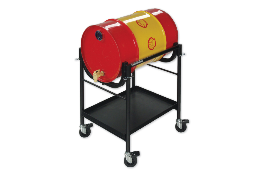 Oil-fuel drum trolley