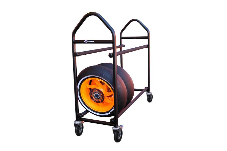 Carrello trasporto ruote