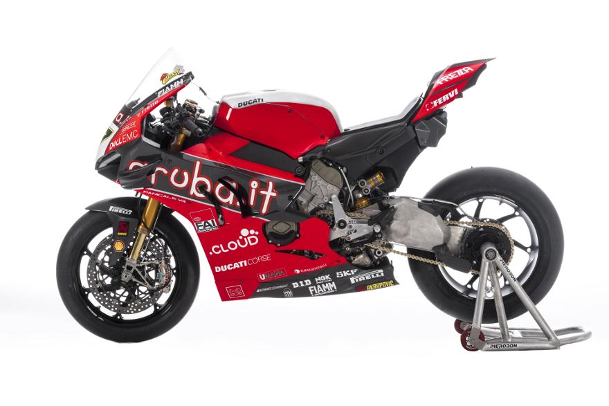 Cavalletto Set per Ducati Panigale V4 R 19-21 posteriore anteriore CLR
